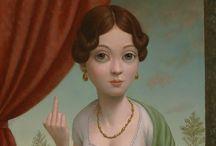 """Ilustraciones. / Si """"me dice algo""""... , la pineo."""