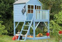 Mini casas / #Miinfancia #casa #árbol #casademadera #juegos #sueños