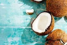 Coconut Oil ♥ / A firm favourite at Akamuti HQ, we use coconut oil for just about everything! A light, nourishing skin food, we use it as a body butter, facial moisturiser and supberb hair treatment oil. Ethically sourced from the Phillipines, this organic, cold pressed oil smells wonderful too. What is not to love?