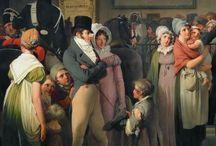 1700 -1800 talls kjoler / Tøy til reanactment