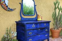 Repurposed and Recycled Furniture Ideas / Repurposing, reclaiming, recycling to bring old furniture back to life.