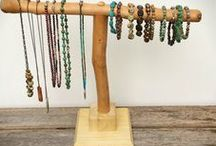 Jewelry displays / creative jewelry display ideas