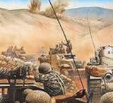 Combat Artworks / Men in action.....