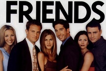 F.R.I.E.N.D.S / Friends is an American sitcom created by David Crane and Marta Kauffman, which aired on NBC from September 22, 1994 to May 6, 2004. The series revolves around a group of friends in Manhattan. / by Cathy Y.