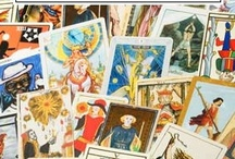 Tarot Cards / Female Power, love, intrigue, creativity, new beginnings, and destiny. / by Margie Amato