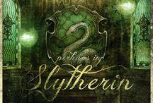 Slytherin / Draco dormiens nunquam titillandus. My love for Harry Potter / by Megan Moynihan