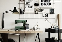 Craft Rooms / An inspiration board of craft room designs, styles and ideas