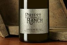 Our Wines / Our Priest Ranch wines!