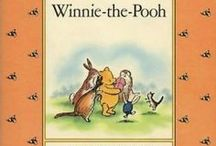 The 100 Acre Woods /  Winnie-the-Pooh and all his friends by A. A. Milne. Alan Alexander Milne ( 1/18/1882 - 1/31/1956 ) was an English author, best known for his books about the teddy bear Winnie-the-Pooh and for various children's poems. / by Cathy Y.