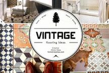 Vintage - Home Decor Ideas / All things vintage for the home