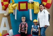 Bob de Bouwers / Op de Dag van de Bouw konden kinderen op de foto met Bob de Bouwer.