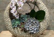 Kunst met bloemen /
