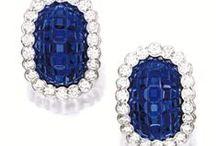 Sapphire Earrings / by BKGJewelry
