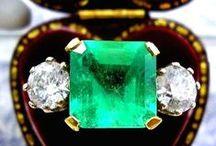 Emerald Rings / by BKGJewelry