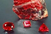Ruby Gemstones / by BKGJewelry