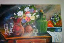 my arts (pintura em telas) / telas diversas