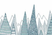 Winter Wonderland Project / Imagined Landscape: Winter wonderland Xmas themed.