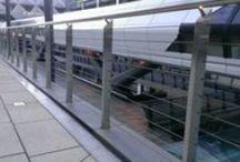 Balustrade / Jakob stainless steel ropes in balustrade
