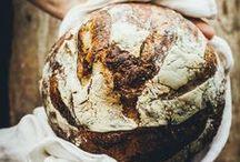 Bread / leckere Brote kunstvoll ins Licht gesetzt Yummi Bread in famous Light