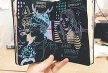Sketchbooks | Journals / Sketchbooks, journals, artist books, cute sh*t