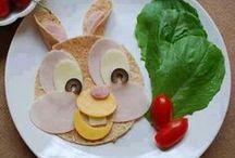 Creatief met eten /