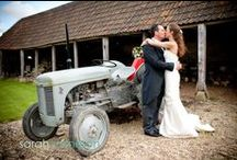Wick Farm Bath Weddings / Wick Farm is a lovely venue that has a relaxed rural feel but is only about 15 minutes out of Bath.  The stone barn and grounds have a rustic English country look which I love.