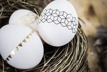 Ostereier bemalen & beplotten / Ostereier färben, kreativ bemalen, mit dem Plotter Aufkleber für Ostereier erstellen, individuelle Ostereier