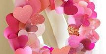 Valentinstagkarten & -geschenke basteln & plotten / Selbstgemachtes zum Valentingstag, Herzen, Dekoration