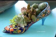 Обувь, колодки в интерьере