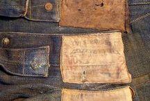 Vintage Denim / Authentic vintage jeans and denim garments.