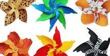 Windräder: Sommer- und Gartendeko basteln & plotten / Alles rund um das Windrad - die selbstgemachte Sommer- und Gartendeko: Bastelvorlagen, Plotterdateien, Silhouetten, Inspirationen, Ideen, Anleitungen. Ich nutze Windräder als Blumenstecker, Kuchen-Topper, Geschenkdeko uvm.