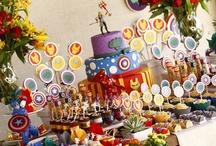 Festa Infantil OS VINGADORES - THE AVENGERS PARTY