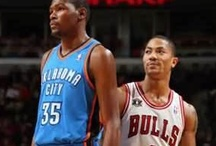 Chicago Bulls & OKC Thunder / What can I say? Bulls are my home team, but I love the OKC Thunder just as much. Bullieve and Thunder Up! / by Ashley
