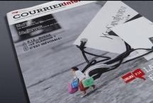 """Courrier International / EDITION / Refonte du journal """"Courrier International""""."""