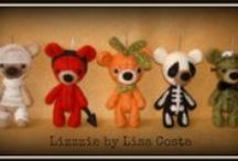 Halloween time! / Needle felted, fimo and creative sewing Halloween collection