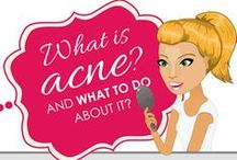 Acne Solutions / Information about the root causes of acne and both natural and medical solutions to the troubling skin condition.