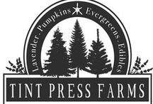 Tint Press Farms / Behind the scenes of our new farm  as we balance life and a design studio in Western New York