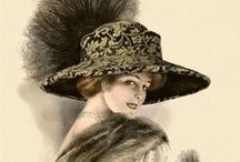 ANTIQUE HATS / Victorian  Edwardian and Belle Epoque hats