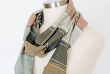 Womens Fashion: Scarves and Accessories / Stay warm and look great in our Winter fashion items, such as our highly popular hand-woven scarves.  See our full collection at KaramaCollection.com