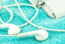 Workout Playlists / Shed those calories and get into tip-top swimsuit shape with pulse-pounding music playlists!