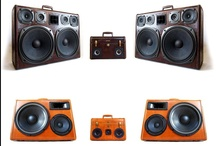BoomCase / Rechargeable Vintage Suitcase BoomBoxes - Portable Stereo Speakers