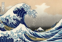 Hokusai's Great Wave / Objects inspired by the Great Wave of Kanagawa