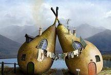 Nicht-Alltägliche-Behausungen! / ...traumhafte und außergewöhnliche Wohnmöglichkeiten, auf die man ersteinmal kommen muss!