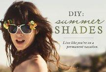 Sunglasses DIYs