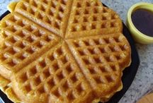 WAFFLE, waffle! / Uses for waffle irons and waffle recipes, galore! / by Connie Williams