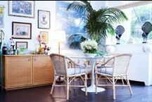 Antique Wicker and Rattan Furniture / Outdoor furniture