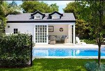 Pool Houses and pools.