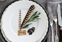 Thanksgiving Table-Scapes Ideas / by Camp Makery