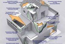Spuma poliuretanica rigida (bicomponenta pulverizabila) PU / Poliuretanul rigid (PU) poate fi folosit ca izolator pentru interior cat si pentru exterior. Poate fi aplicat sub tencuiala decorativa la exterior, poate fi folosit ca agent termoizolator sub sistemul de incalzire in pardoseala sau poate fi folosit la interior ca izolator pentru pereti sau acoperis. S-a dovedit a fi cel mai eficient material pentru termoizolarea interioara a halelor si unul dintre cele mai viabile materiale pentru izolarea mansardelor.