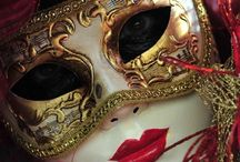 Venetian & Mardi Gras Masks / These are not my own personal designs. They are an inspiration board of other very talented artists who are generous enough to share their creativity and talent.  / by Julie Price